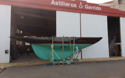 "RESTORING A ""6 METERS CLASS"" RACE BOAT"