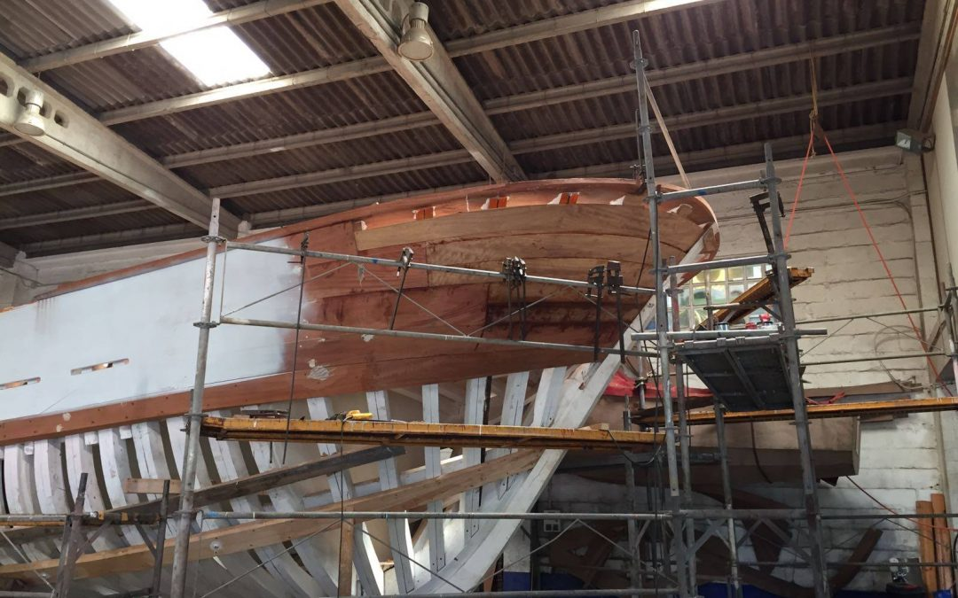 """BISMARK II""'S WORK CONTINUES APACE"