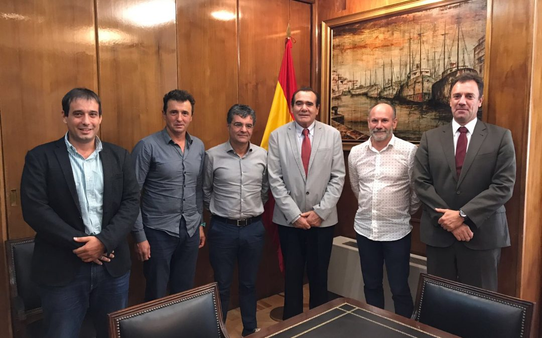 AGALCARI EXECUTIVES MEET WITH THE GENERAL DIRECTOR OF MERCHANT MARINE